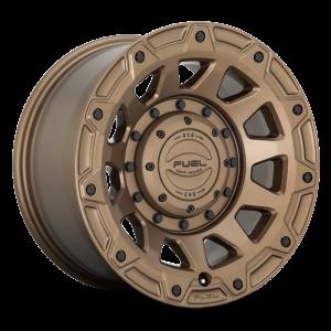 17x9 Fuel Offroad Wheels D731 Tracker 5x114.3/5x127 -12 Offset 78 Centerbore Bronze