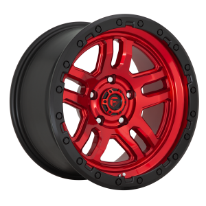 17x9 Fuel Offroad Wheels D732 Ammo 6x114.3 1 Offset 106.1 Centerbore Candy Red