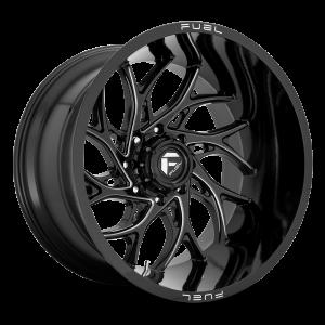 20x10 Fuel Offroad Wheels D741 Runner 5x127 -18 Offset 71.5 Centerbore Gloss Black