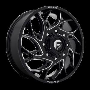 20x8.25 Fuel Offroad Wheels D741 Runner 8x165.1 105 Offset 121.6 Centerbore Gloss Black