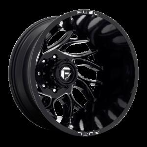 20x8.25 Fuel Offroad Wheels D741 Runner 8x165.1 -215 Offset 121.6 Centerbore Gloss Black