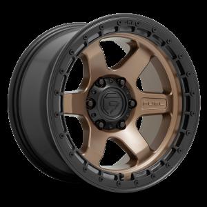 17x9 Fuel Offroad Wheels D751 Block 5x127 -12 Offset 71.5 Centerbore Bronze