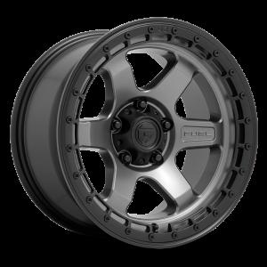 17x9 Fuel Offroad Wheels D752 Block 5x127 -12 Offset 71.5 Centerbore Gunmetal