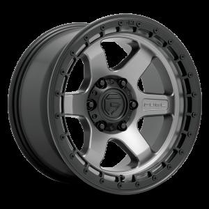 17x9 Fuel Offroad Wheels D752 Block 6x114.3 1 Offset 66.3 Centerbore Gunmetal
