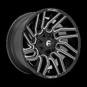 20x10 Fuel Offroad Wheels D773 Typhoon 8x165.1 -18 Offset 125.2 Centerbore Gloss Black