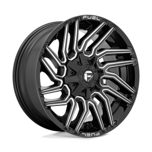20x9 Fuel Offroad Wheels D773 Typhoon 8x165.1 1 Offset 125.2 Centerbore Gloss Black