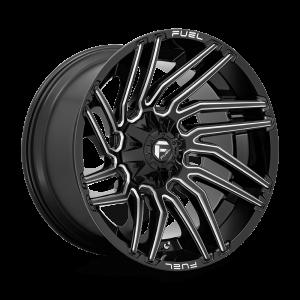 22x12 Fuel Offroad Wheels D773 Typhoon 5x139.7/5x150 -44 Offset 110.2 Centerbore Gloss Black
