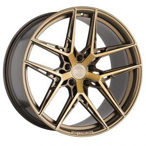19x8.5 5x112 XO Wheels London Matte Black 32 offset 66.56 hub