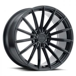 19x10 5x112 XO Wheels London Matte Black 42 offset 66.56 hub