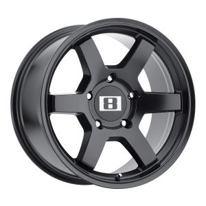 16x8  Level 8 Wheels Mk6 Matte Black -10  offset  106.1  hub