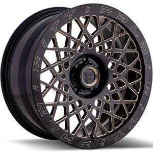 20x9 Fittipaldi Offroad Wheels FTF04 X-Trail 5x5 +06 Offset 71.5 Hub Bronze