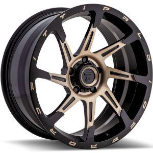 20x9 Fittipaldi Offroad Wheels FTF06 X-Trail 5x5 +06 Offset 71.5 Hub Bronze