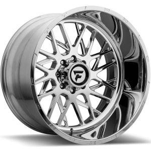 22x12 Fittipaldi Offroad Wheels FTF12 Alpha 5x5 -51 Offset 71.5 Hub Polished