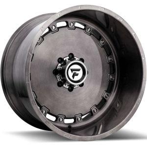 22x12 Fittipaldi Offroad Wheels FTF15 Alpha 5x5 -51 Offset 71.5 Hub Black