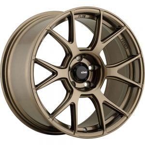 17x8 Konig Wheels 56BZ Ampliform 4x100 +45 Offset 73.00 Hub Bronze