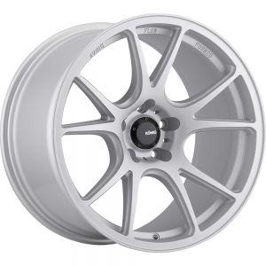 18x9.5 Konig Wheels 100BZ Freeform 5x120 +35 Offset 72.60 Hub Matte Silver