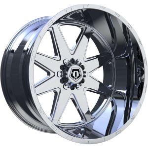 22x12 TIS Wheels 551P 5x5 / 5x139.7 -44 Offset 78 Hub Polished