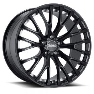 18x8 Advanti Racing Wheels 77B Fastoso 5x100 +35 Offset 73.00 Hub Matte Black