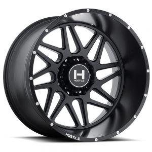 Hostile Offroad Wheels Sprocket 20x10 5x127 -19 Offset 78.1 Hub Asphalt Finish
