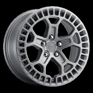 17x8 MKW Offroad Wheels M206 5x100 35et 57.1 Hub Full Matte Grey paint