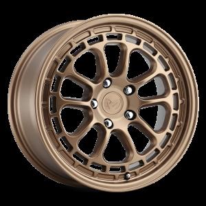 17x8 MKW Offroad Wheels M207 5x100 35et 57.1 Hub Full Matte Bronze paint