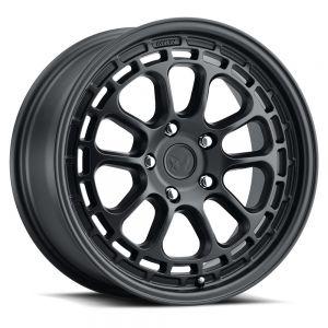 17x8 MKW Offroad Wheels M207 5x100 35et 57.1 Hub Full satin black