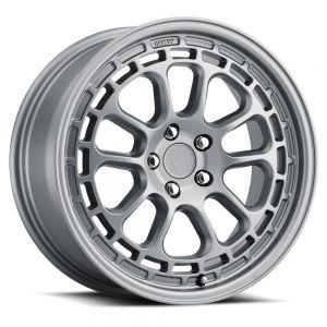 17x8 MKW Offroad Wheels M207 5x100 35et 57.1 Hub Full Matte Grey paint