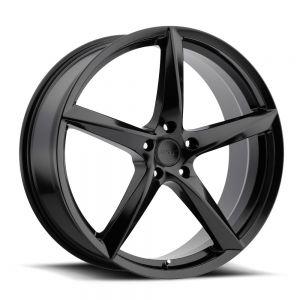 18x8 MKW Wheels M120 5x112 40et 73 Hub Satin Black