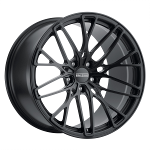 20x9 5x120.65 Cray Wheels Falcon Matte Black 37 offset 70.3 hub