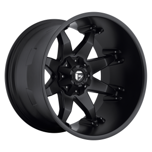 17x8.5 Fuel Offroad Wheels D509 Octane 5x114.3/5x127 -5 Offset 78.1 Centerbore Matte Black