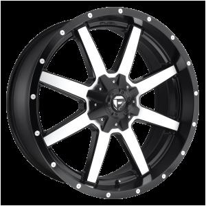 17x9 Fuel Offroad Wheels D537 Maverick 5x114.3/5x127 -12 Offset 78.1 Centerbore Matte Black