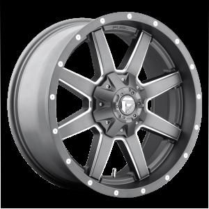 20x10 Fuel Offroad Wheels D542 Maverick 6x135/6x139.7 -18 Offset 106.1 Centerbore Matte Black