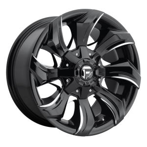 17x9 Fuel Offroad Wheels D571 Strykr 5x120 35 Offset 65.07 Centerbore Gloss Black