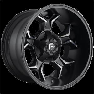 20x10 Fuel Offroad Wheels D605 Avenger 5x114.3/5x127 -18 Offset 78.1 Centerbore Matte Black