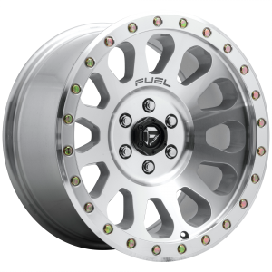 17x8.5 Fuel Offroad Wheels D647 Vector 6x139.7 -6 Offset 108 Centerbore Diamond Cut