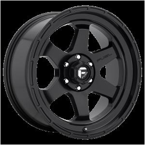 17x10 Fuel Offroad Wheels D664 Shok 5x127 -18 Offset 71.5 Centerbore Matte Black