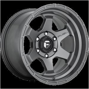 17x10 Fuel Offroad Wheels D665 Shok 5x127 -18 Offset 71.5 Centerbore Gunmetal