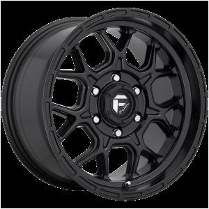 17x9 Fuel Offroad Wheels D670 Tech 5x127 1 Offset 71.5 Centerbore Matte Black