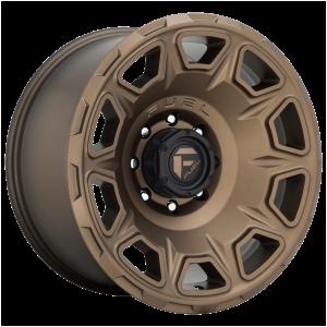 17x9 Fuel Offroad Wheels D687 Vengeance 5x127 -12 Offset 71.5 Centerbore Bronze