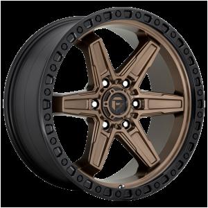 17x9 Fuel Offroad Wheels D699 Kicker 5x127 -12 Offset 71.5 Centerbore Bronze