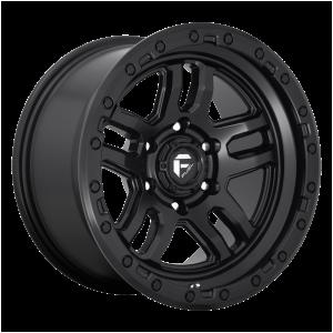 17x9 Fuel Offroad Wheels D700 Ammo 5x127 -12 Offset 71.5 Centerbore Matte Black