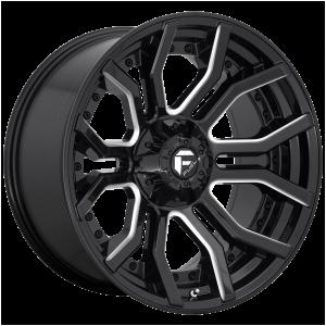20x10 Fuel Offroad Wheels D711 Rage 5x127/5x139.7 -18 Offset 87.1 Centerbore Gloss Black