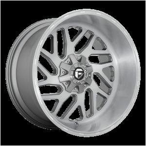 20x10 Fuel Offroad Wheels D715 Triton Platinum 5x114.3/5x127 -18 Offset 78.1 Centerbore Gunmetal