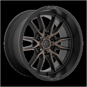 20x10 Fuel Offroad Wheels D762 Clash 6x135 -18 Offset 87.1 Centerbore Matte Black
