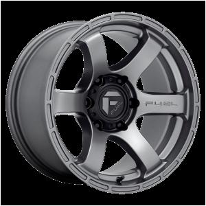 17x9 Fuel Offroad Wheels D767 Rush 6x114.3 1 Offset 66.3 Centerbore Gunmetal