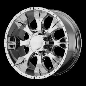 16x10 8x170 Helo Wheels HE791 Maxx Chrome -25  offset  130.81  hub