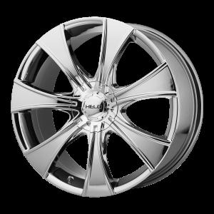 15x7  Helo Wheels HE874 Pvd 21  offset  72.6  hub