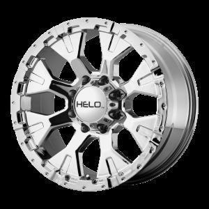 16x9  Helo Wheels HE878 Chrome -12  offset  125.5  hub