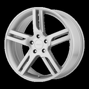 16x7  Helo Wheels HE885 Silver 40  offset  72.6  hub