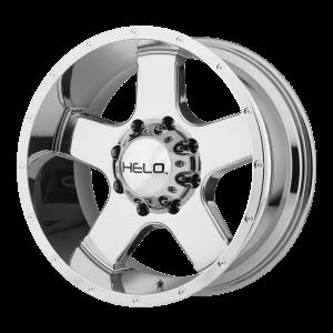 16x8  Helo Wheels HE886 Pvd 0  offset  106.25  hub